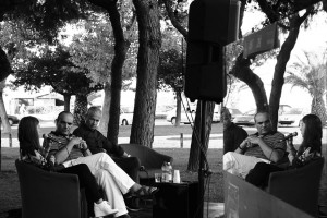 Paola Vismara, Gilberto Santini e Frédéric Olivieri - foto di Giulia Cavaliere