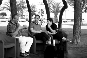 Gilberto Santini, Hillel Kogan, Daniela Rimei - foto di Giulia Cavalieri