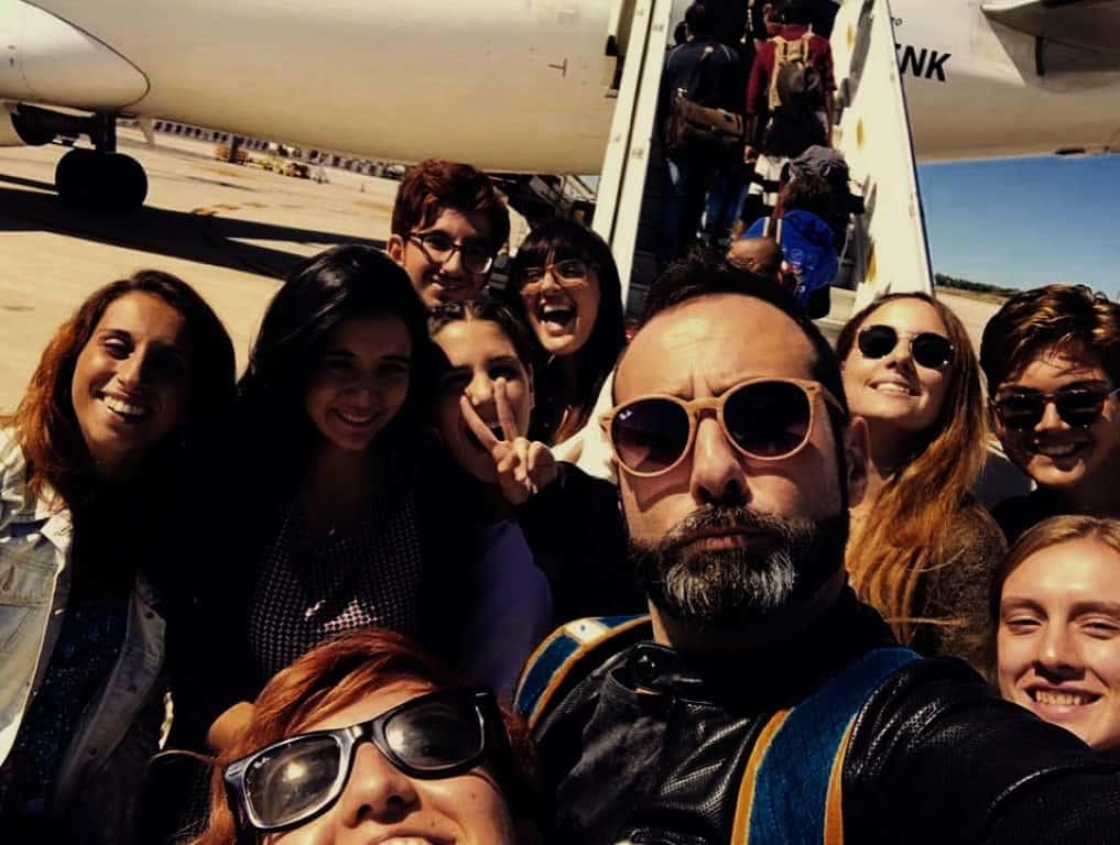 Italians in volo verso Coimbra!