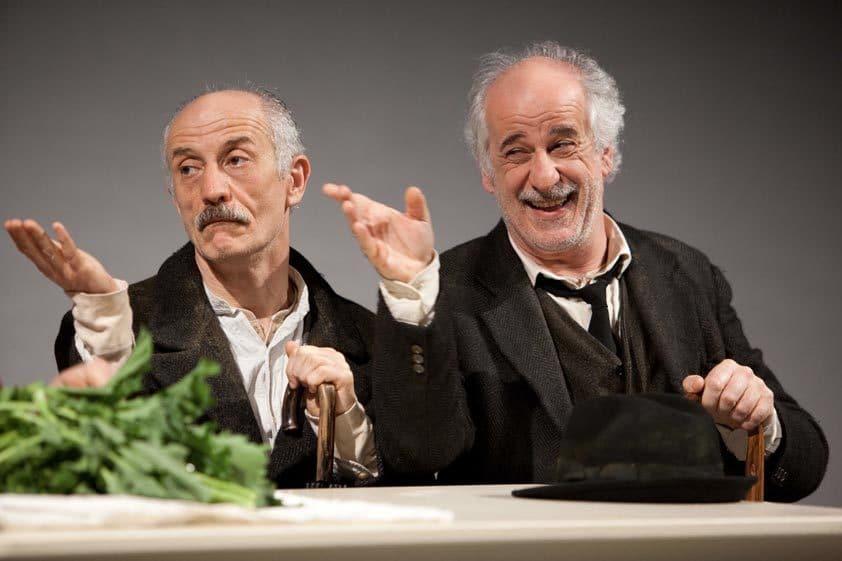 I fratelli Servillo in scena con Le voci di dentro