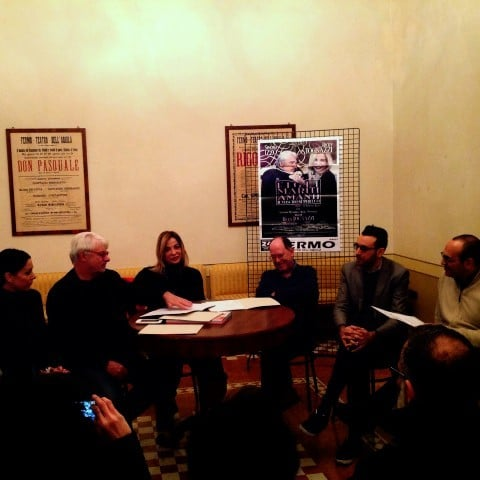 Ricky Tognazzi e Simona Izzo in residenza a Fermo