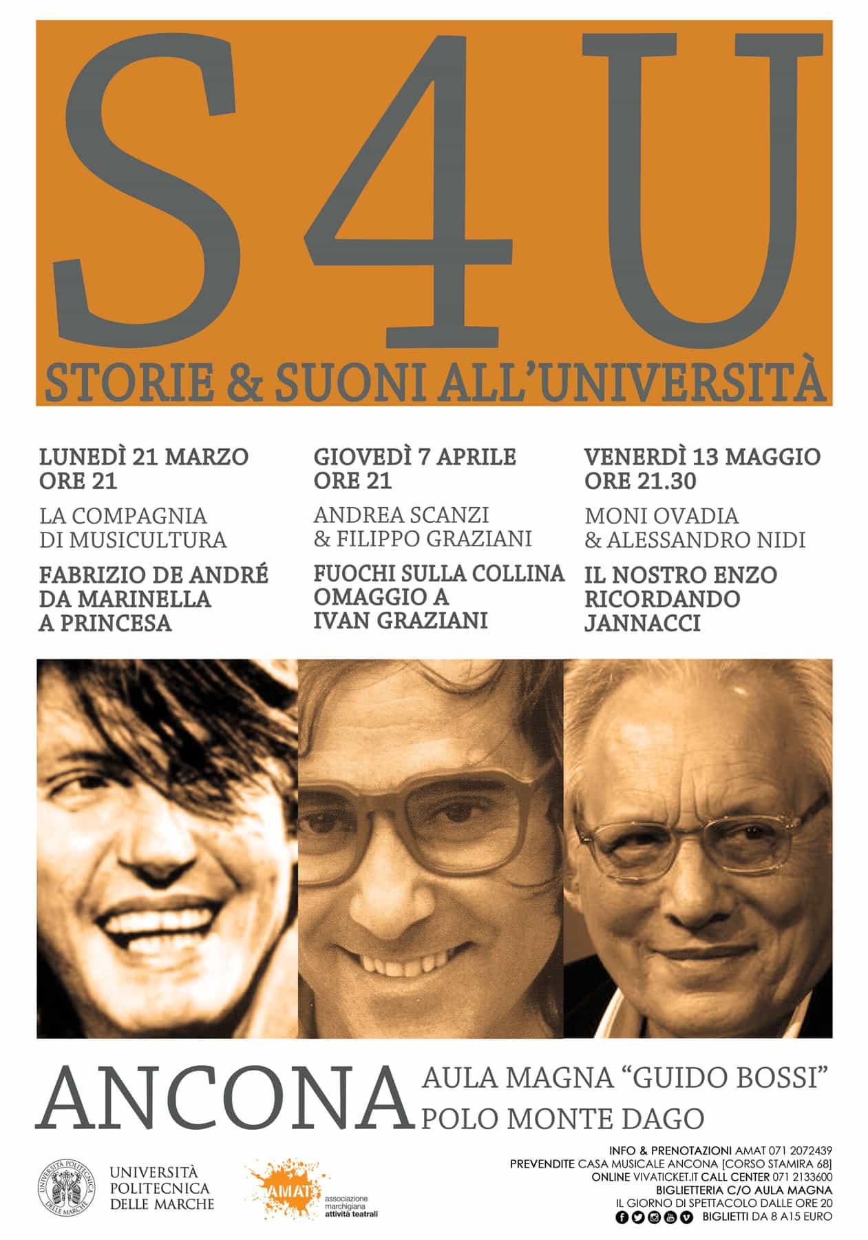 Presentazione S4U – Storie & Suoni all'Università
