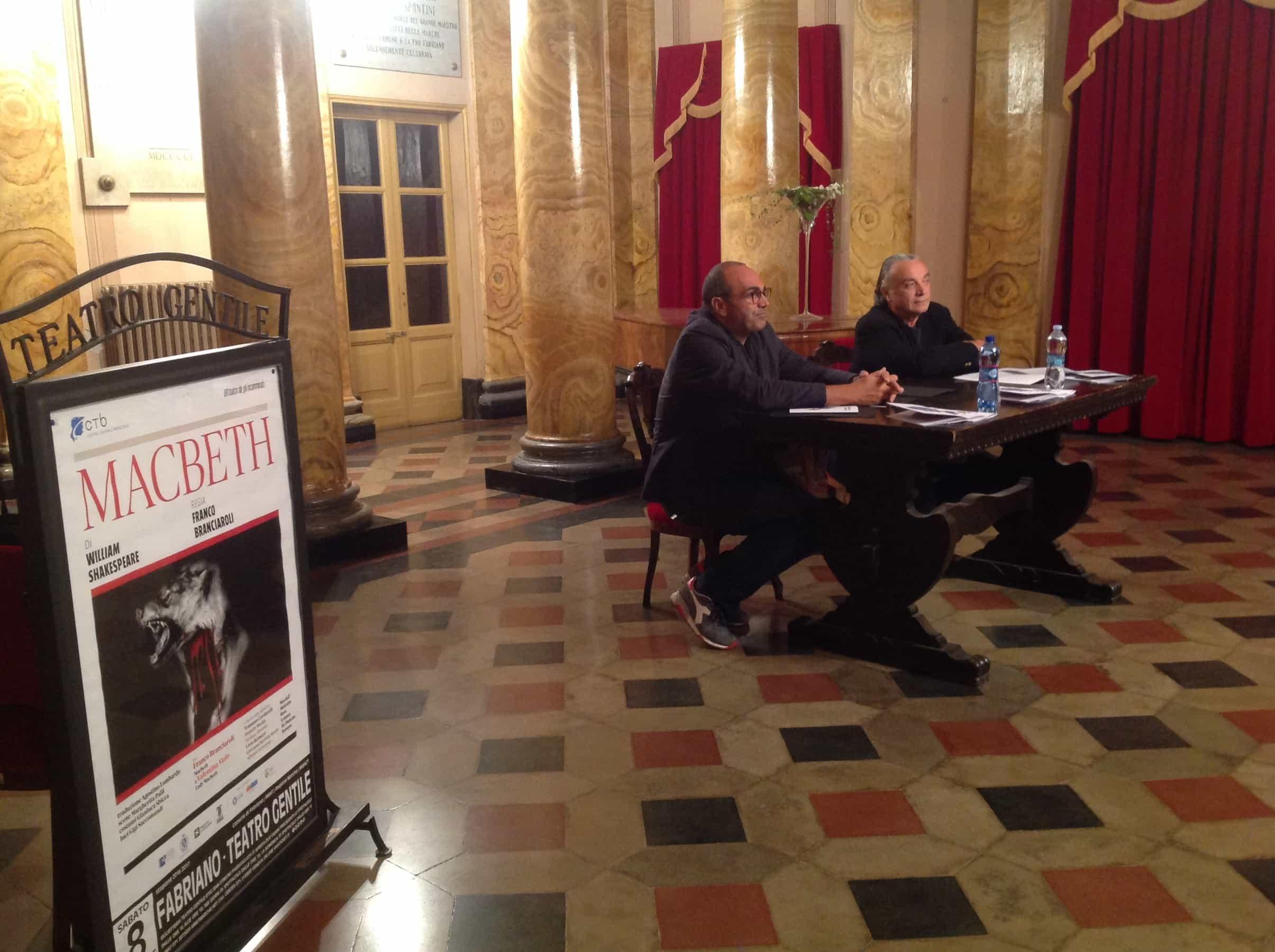 Franco Branciaroli in residenza a Fabriano per Macbeth