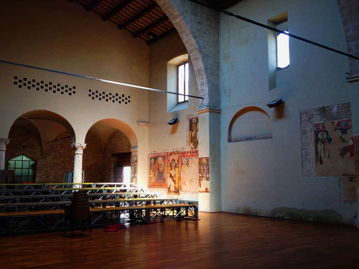 Chiesa di Sant'Andrea - montaggio