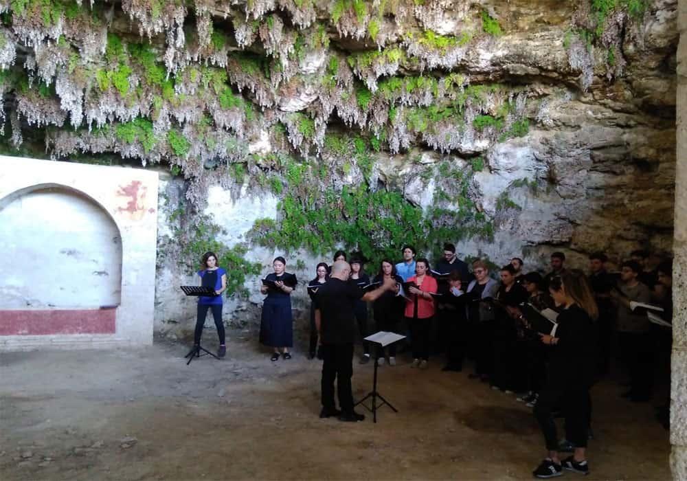 Coro Gregoriano all'Eremo San Marco