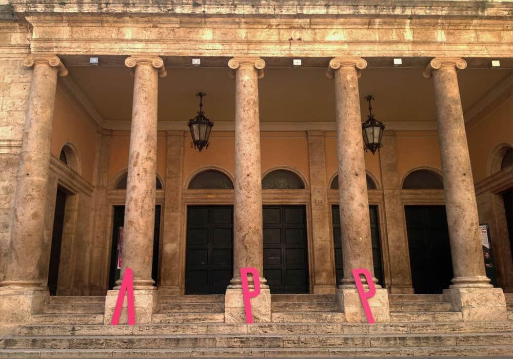 Teatro Ventidio Basso esterno APP